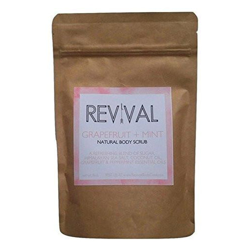 Revival Body Care Organic Whipped Skin-Replenishing Body Scrub - Grapefruit + Mint