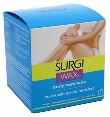 Surgi-Wax Hair Remover for Bikini, Body & Legs 4 oz