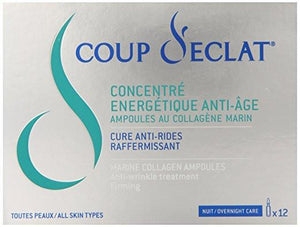 Coup D'eclat 12 Piece Marine Collagen Ampoules, 0.033 Ounce each