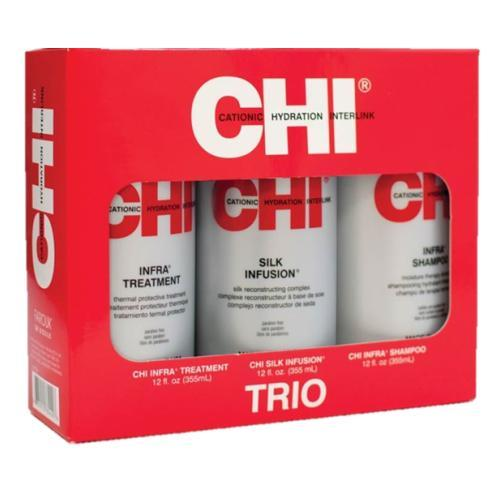 CHI Infra 12oz Trio (Infusion, Shampoo, & Treatment)