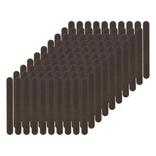 Load image into Gallery viewer, Flowery Disposable Nail File Cushion Core 100/180 Grit, Black, 100 Count