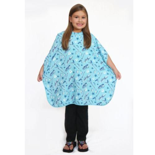 DELUXE KIDDIE SHAMPOO CAPE-Guitar