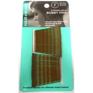 HairWare Bobby Pins- 60 count