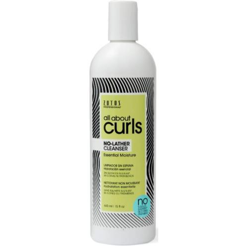 All About Curls No Lather Cleanser 15 oz.