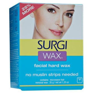Surgi Wax Hair Removal For Face - beautysupply123