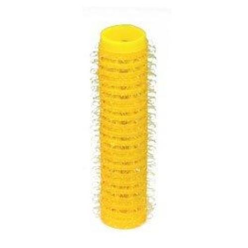 HairArt Mini Yellow Hair Rollers- 6 Pack