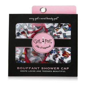 Spa Sister Bouffant Shower Cap, Shoe Fashionista