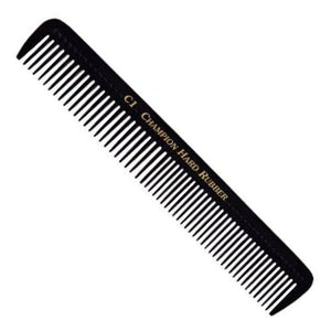 Champion Hard Rubber Styling Comb C1 - beautysupply123
