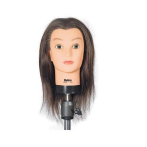 Celebrity Debra Cosmetology Human Hair Manikin