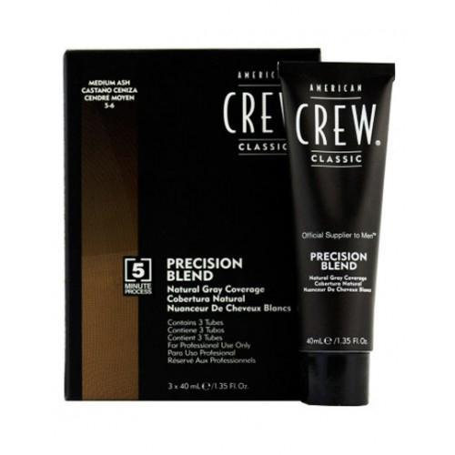 American Crew: Precision Blend-Medium Ash - beautysupply123