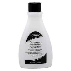 SuperNail Pure Acetone, 4 oz