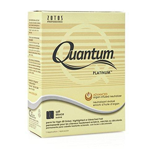 Quantum Platinum Perm for Highlighted or Bleached Hair- 1 Application
