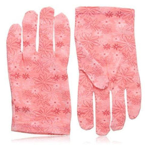 Spa Sister  Moisture Enhancing Gloves, Daisy