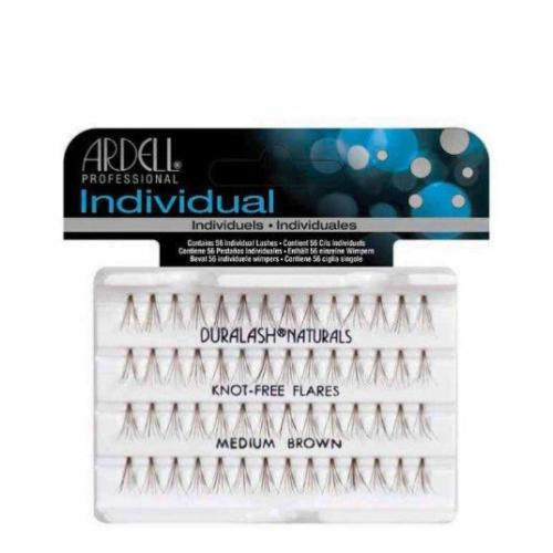 Ardell Knot-Free Individual Medium Lashes -Brown