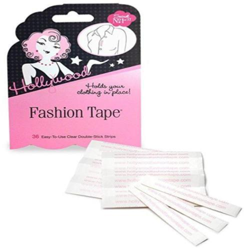 Hollywood Fashion Secrets Fashion Tape Flat Pack- 36 strips