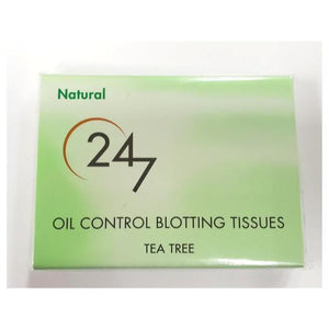 Zon Cosmedix Oil Blotting Tissues- Tea Tree
