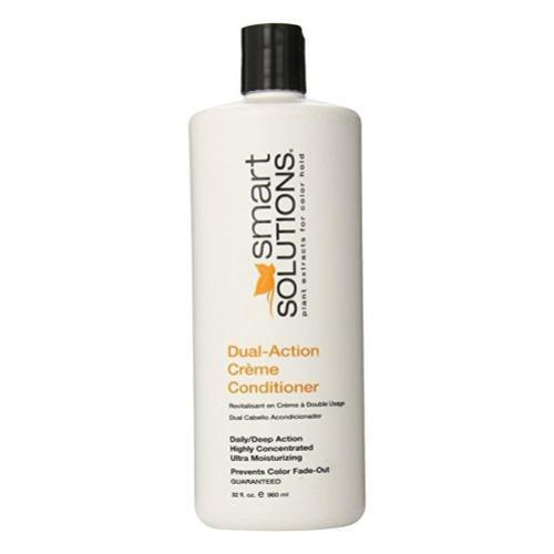 Smart Solutions Dual Action Creme Conditioner, 32 Fluid Ounce