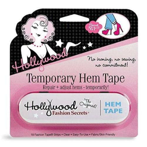 Hollywood Fashion Secrets Temporary Hem Tape, 18 Tape Strips