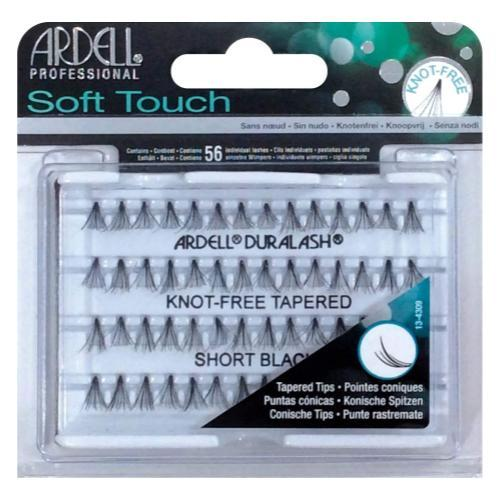 Ardell Soft Touch Knot-Free Eyelash, Black, Short