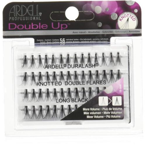 Ardell Double Individuals Knotted long Eyelash, Black