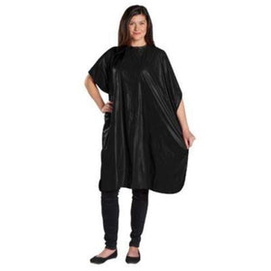 Scalpmaster Shampoo Cape- Black