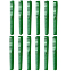 Cleopatra Green Styling Combs #400- 1 Dozen
