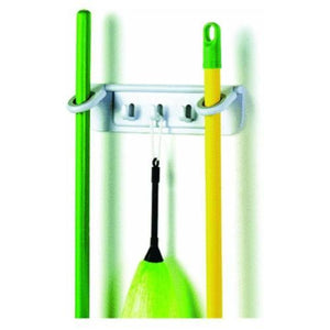 Spectrum Mop and Broom Organizer