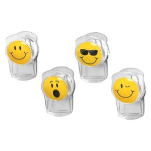 Spectrum Smiley Face Magnetic Clips