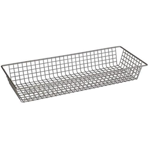 Spectrum Grid Tray Organizer -Satin Nickel