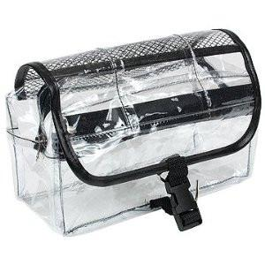 Clear Vinyl Dopp Kit Cosmetic Bag 9