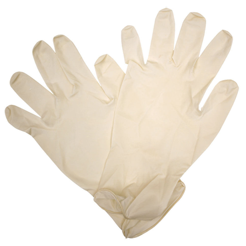 Gloves Latex, Large - beautysupply123 - 1