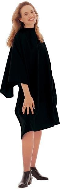 Cricket Haircutting Capes, Unicloth, Black - beautysupply123