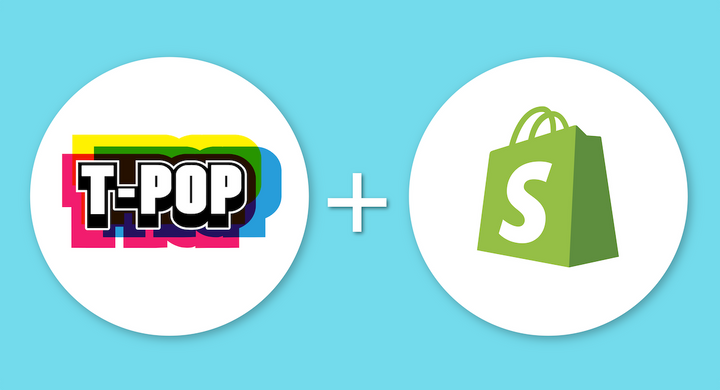 Pour une intégration T-Pop + Shopify au top - T-POP Print on demand app