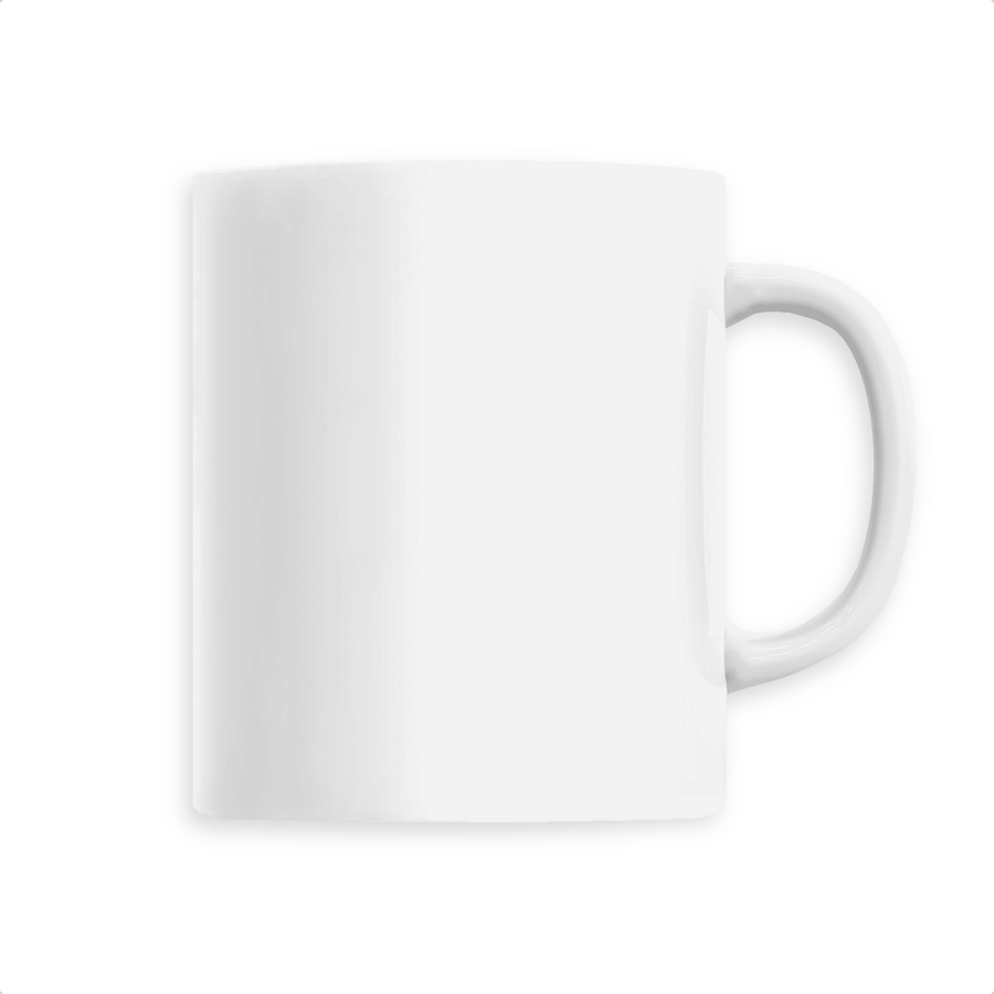 Mug céramique - Blanc - Print on demand from Europe | T-Pop