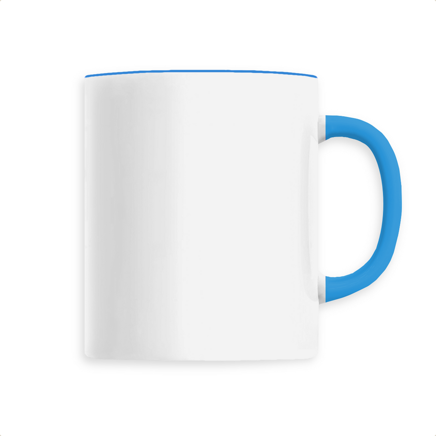 Mug céramique - Bleu - Print on demand from Europe | T-Pop