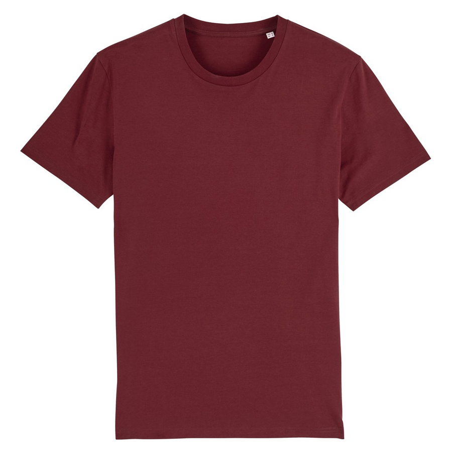 T-shirt Stanley/Stella Rocker - 100% coton bio - Bordeaux - Print on demand from Europe | T-Pop