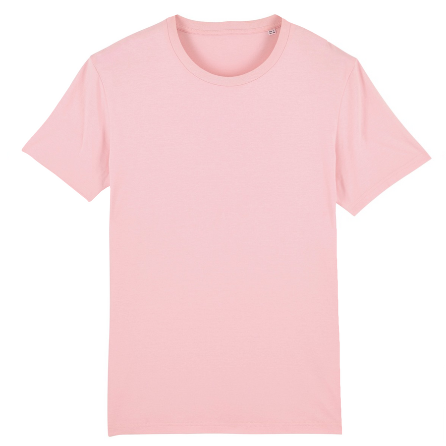 T-shirt Stanley/Stella Creator - 100% coton bio - Rose - Print on demand from Europe | T-Pop