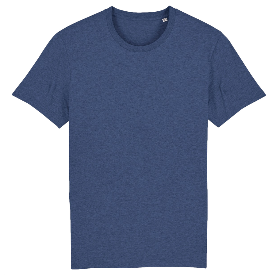 T-shirt Stanley/Stella Creator - 100% coton bio - Bleu indigo chiné - Print on demand from Europe | T-Pop