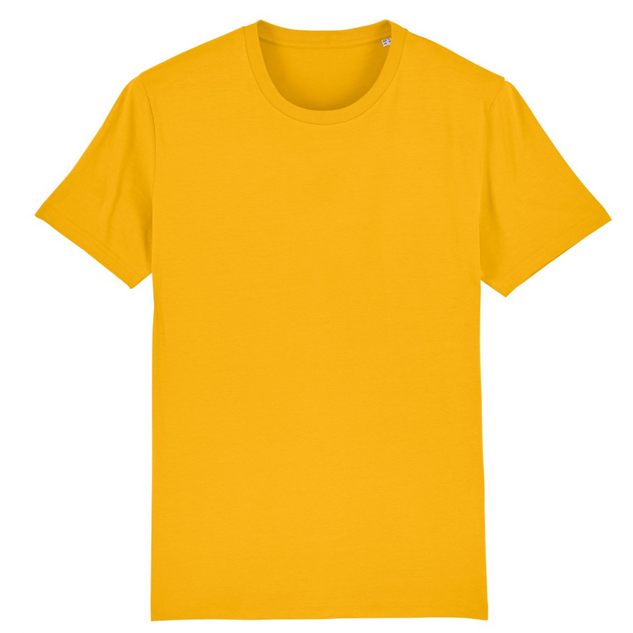 T-shirt Stanley/Stella Creator - 100% coton bio - Jaune Spectra - Print on demand from Europe | T-Pop