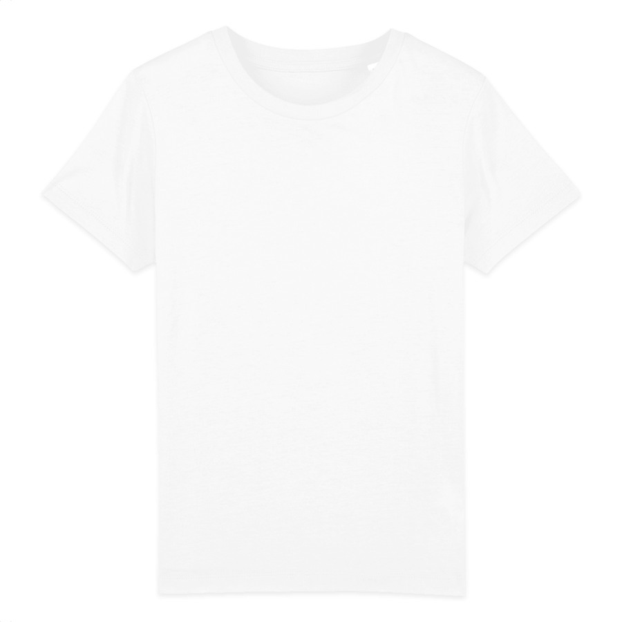 T-shirt enfant Stanley/Stella Mini creator - 100% coton bio - Blanc - Print on demand from Europe | T-Pop