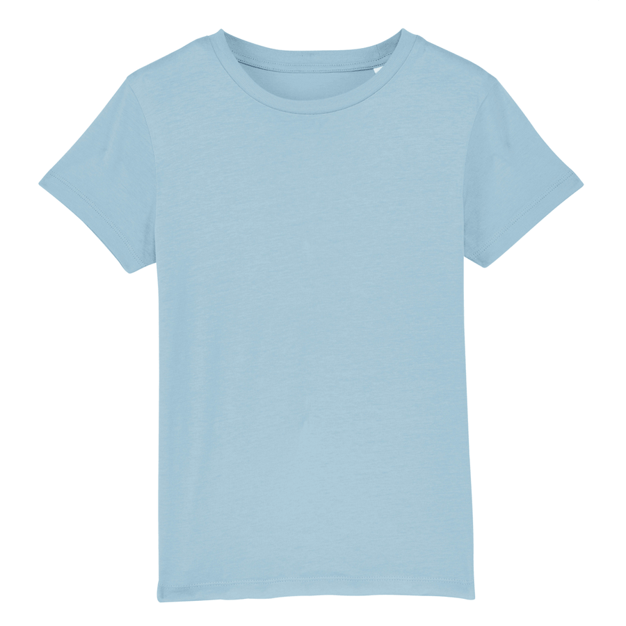 T-shirt enfant Stanley/Stella Mini creator - 100% coton bio - Bleu ciel - Print on demand from Europe | T-Pop
