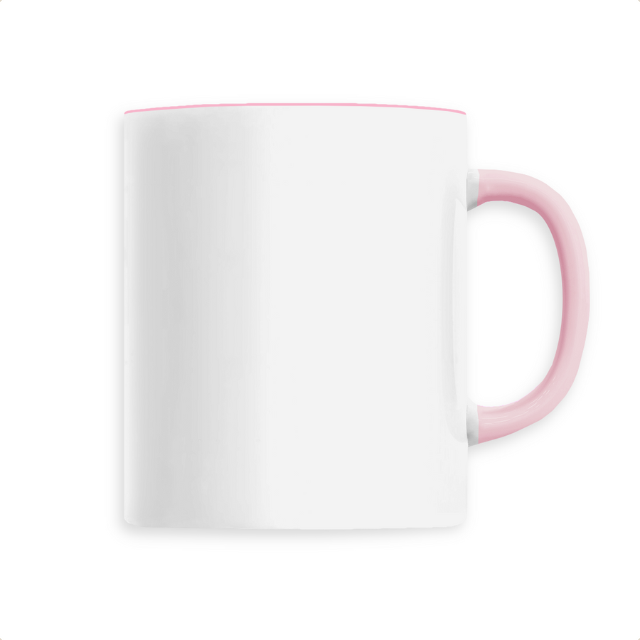 Mug céramique - Rose - Print on demand from Europe | T-Pop