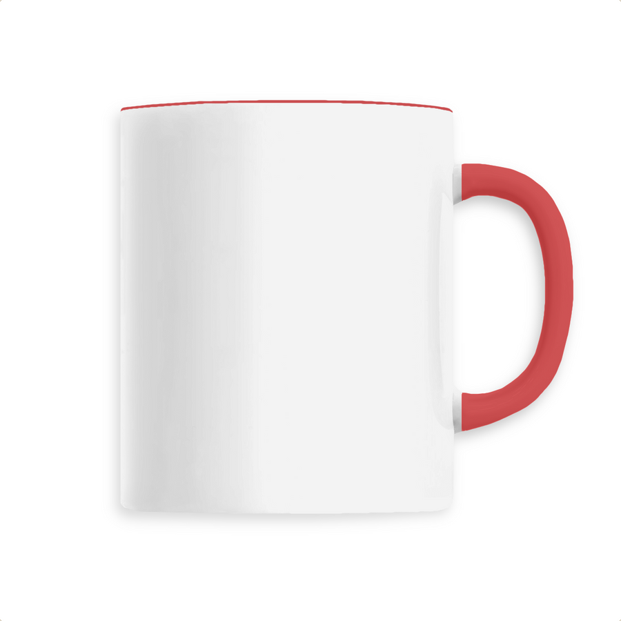 Mug céramique - Rouge - Print on demand from Europe | T-Pop