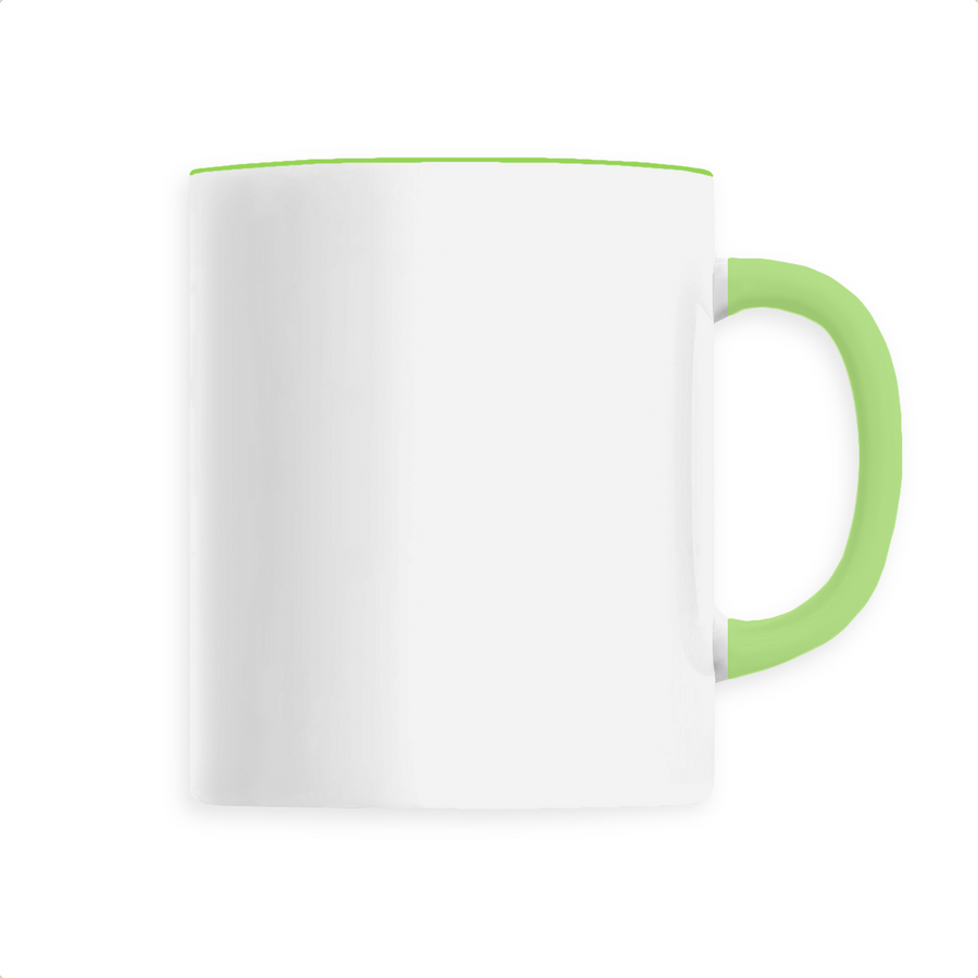Mug céramique - Vert - Print on demand from Europe | T-Pop
