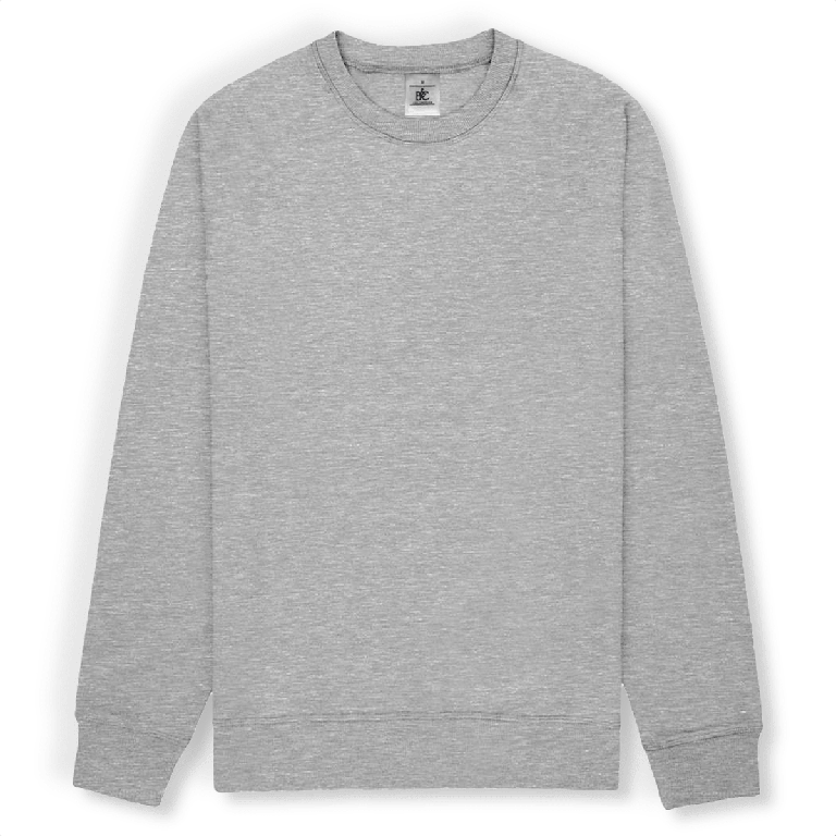 Sweat-shirt unisexe B&C- Print on demand from Europe | T-Pop