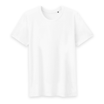 T-shirt Homme 100% Coton BIO - B&C - Blanc - Print on demand from Europe | T-Pop