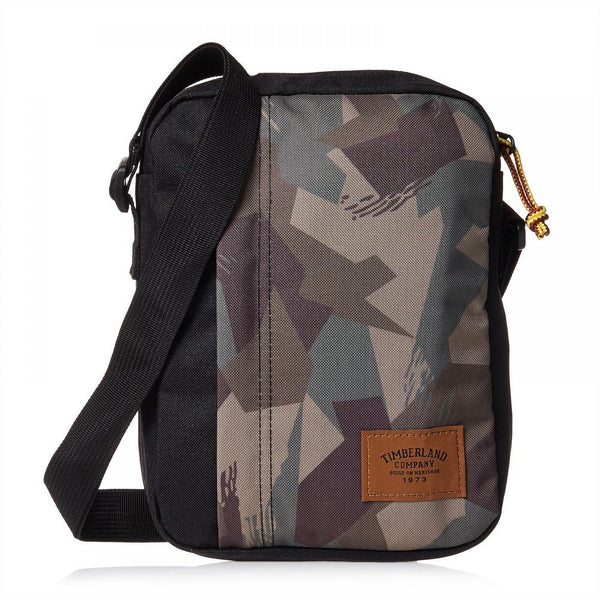 Timberland Unisex Crofton Small Items Print Crossbody Bag