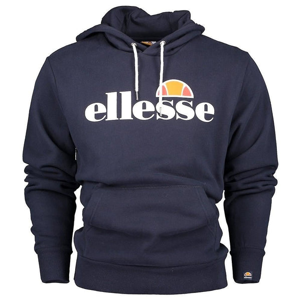 Ellesse Men's Gottero Quality Pullover Gym Hoody Running Sweatshirt Jumper Navy
