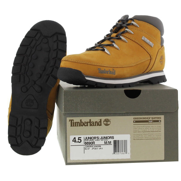 Timberland Kids Euro Sprint Hiker Junior Wheat