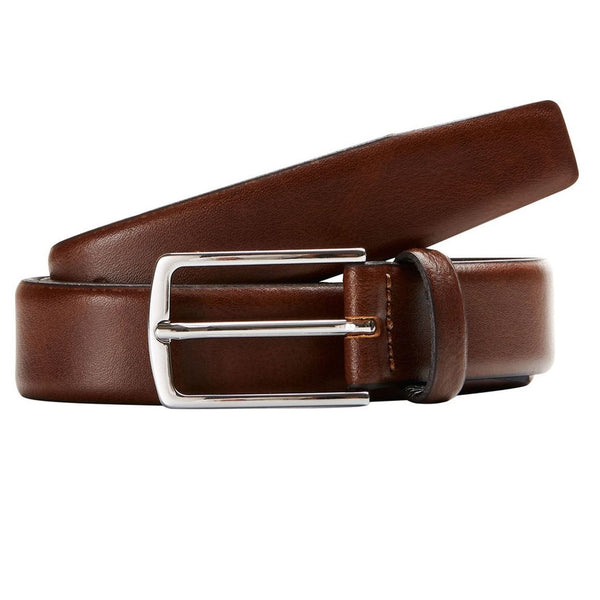 Jack&Jones Mens Classic Belt Brown
